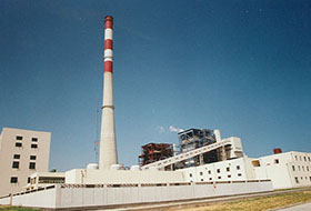日照八公司承建的日照电厂工程
