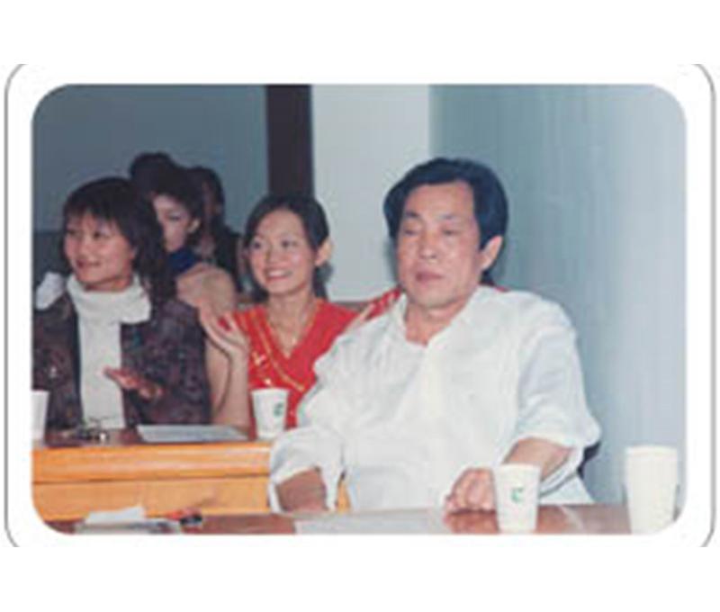 集团总裁刘总观看文艺演出