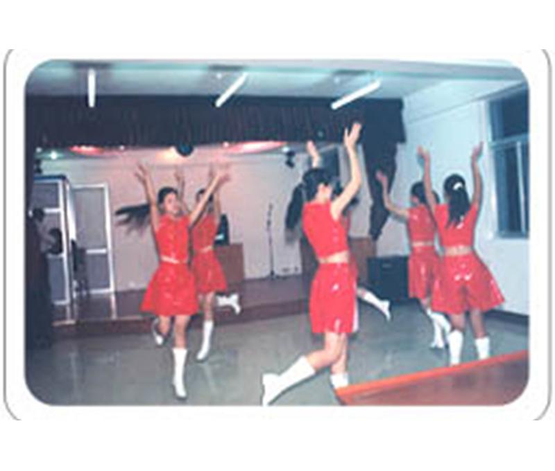 欢快的舞蹈节目